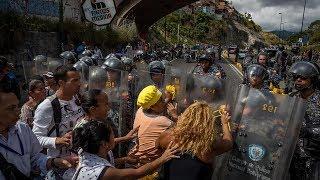 В боях за еду в Венесуэле погибли 4 и были ранены 16 человек