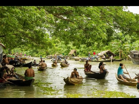 Travel to Barisal | Floating Market | Durga Shagor | Shondha River | Travel Bangladesh