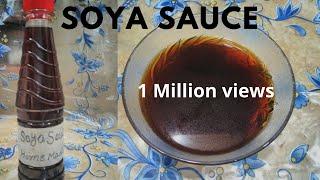 Soya Sauce   Homemade Soya Sauce..