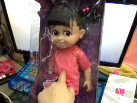 Review 15 Boo Monster Inc Talking Doll Cute  YouTube