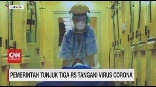 Pemerintah Tunjuk 3 RS Tangani Virus Corona