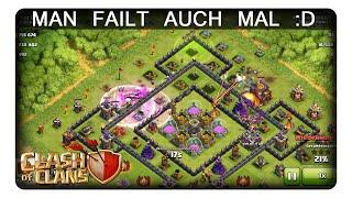 MAN FAILT AUCH MAL :D || CLASH OF CLANS | Let's Play CoC | Deutsch | German