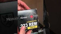Monarch ammo know what you are getting