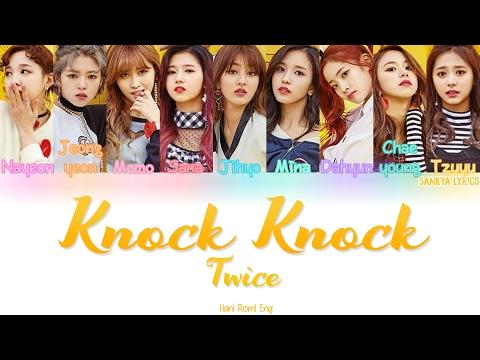 TWICE (트와이스) - Knock Knock (Color Coded) (HAN/ROM/ENG) Lyrics