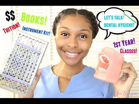 Let's talk: Dental hygiene   Cost, books, tuition and more!   Jai Sylyna