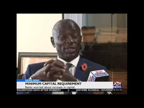 Minimum capital requirement - News Desk on Joy News (19-11-15)