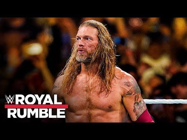 Edge returns at Royal Rumble and delivers vicious Spears: Royal Rumble 2020 (WWE Network Exclusive)