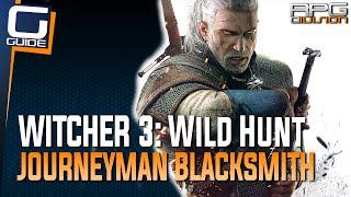 Witcher 3: The Wild Hunt - Journeyman Blacksmith Location