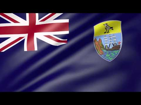 Saint Helena  Animated Flag