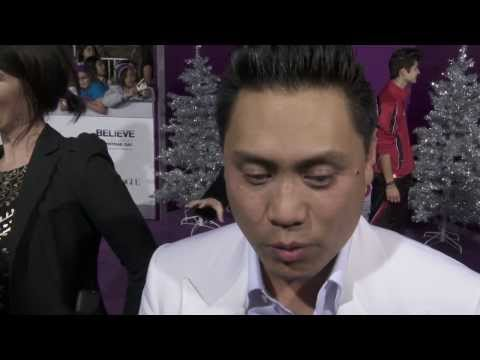 Justin Bieber´s Believe: Jon M. Chu Movie Premiere Interview