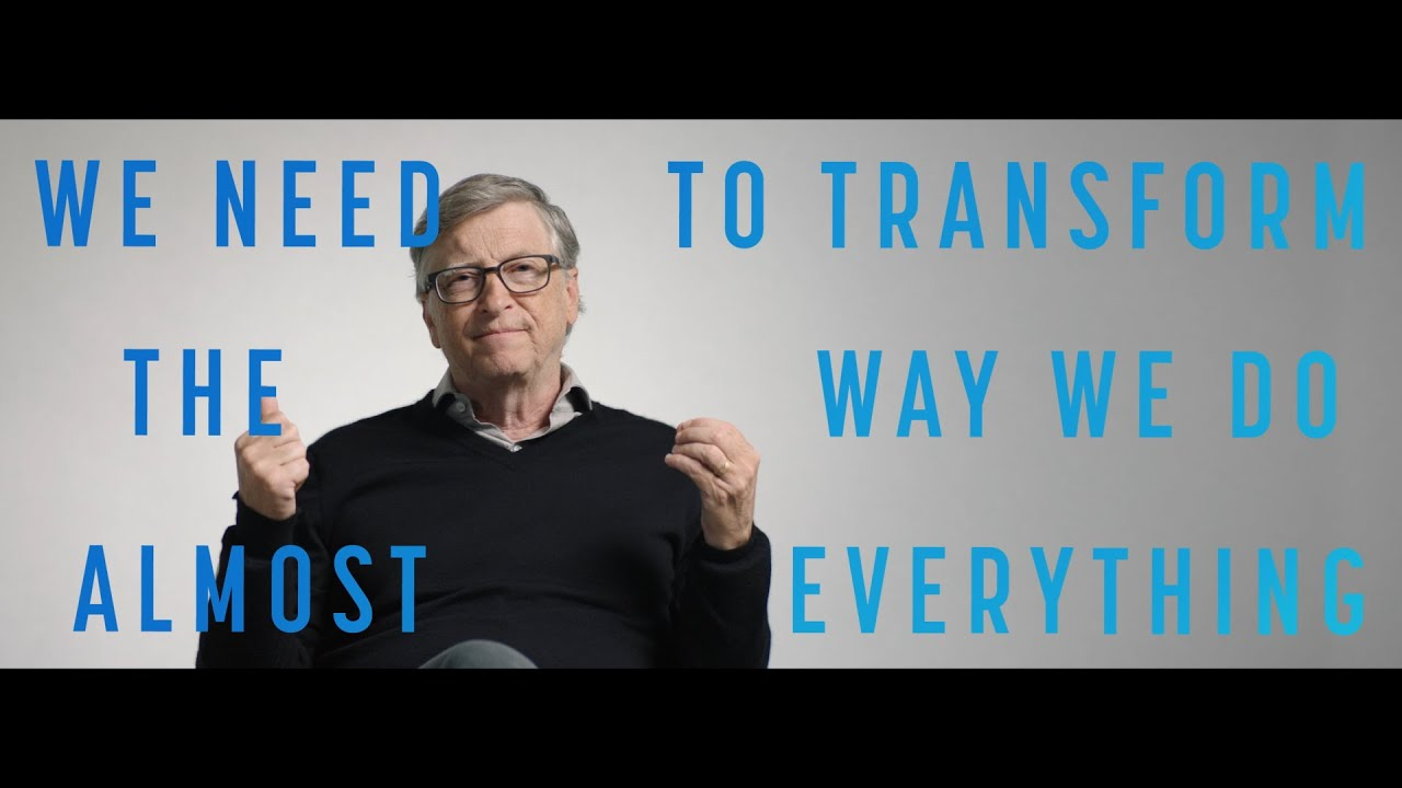 'How to avoid a climate disaster.' Bill Gates.  Feb 2021