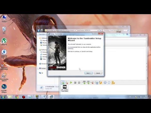 How to install and download  TOMB RAIDER 2013 Skidrow !