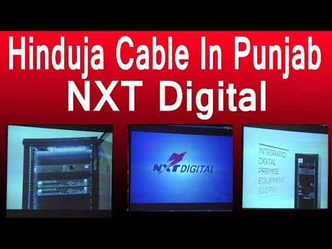 Hinduja Cables / Enters /  Punjab And Chandigarh / Monopoly Ends In / Cable Business / In Punjab