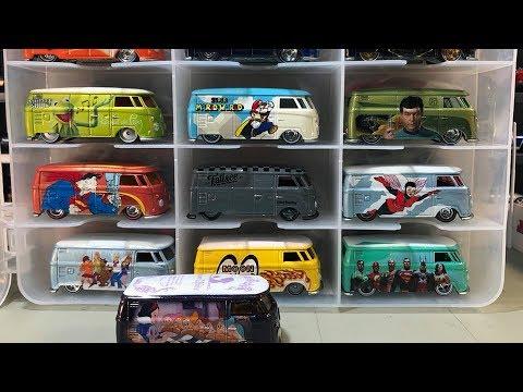 Hot Wheels Vw T1 Panel Bus Walk Through With Latest Walt Disney Youtube