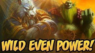 Wild Even Power!   Saviors of Uldum   Hearthstone
