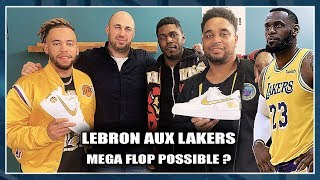 LEBRON AUX LAKERS : MEGA FLOP POSSIBLE ? (Avec S'cuse My Custom) NBA First Day Show 76