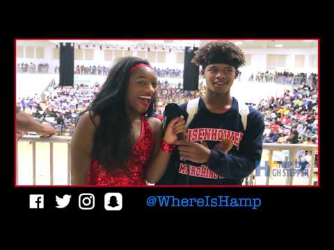 """""""WHERE IS HAMP?"""" - Hamp Interviews The Eisenhower Academy Marching Band"""