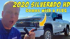 2020 Silverado HD trucks are on lots now. Full EXTERIOR overview.