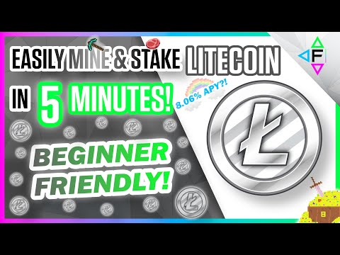 Easily Mine Litecoin On Any Computer   How To Mine Litecoin 2021   How To Stake Litecoin $LTC