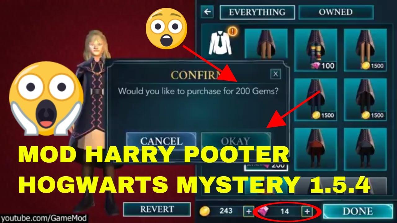 descargar harry potter hogwarts mystery hack 1.5.4