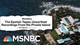 Recordings Give Rare Glimpse Of Jeffrey Epstein In His Own Words | Velshi & Ruhle | MSNBC