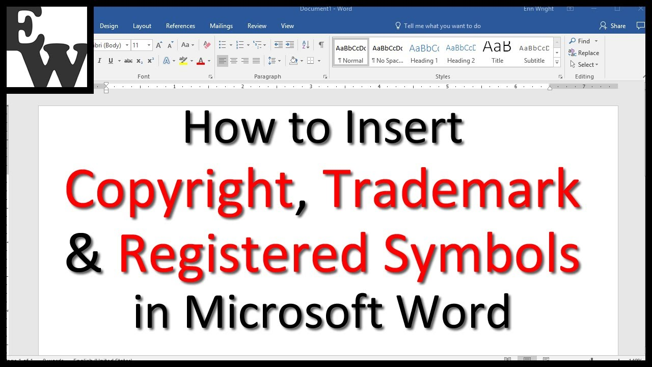 Microsoft word registered symbol choice image symbol and sign ideas how to insert trademark copyright and registered symbols in how to insert trademark copyright and registered biocorpaavc Choice Image