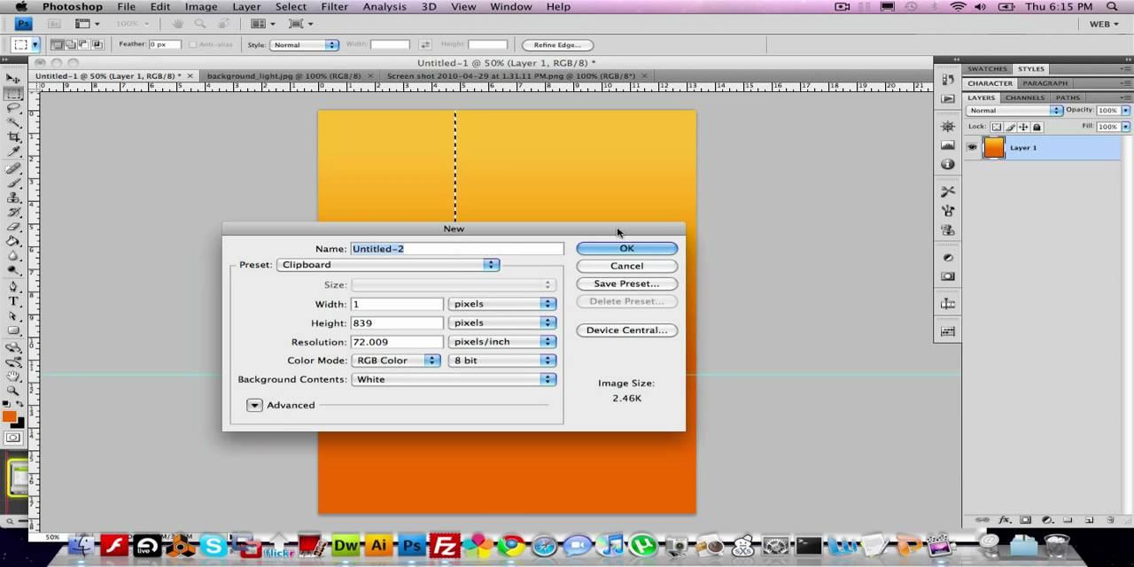 Gradient Background in Dreamweaver - YouTube