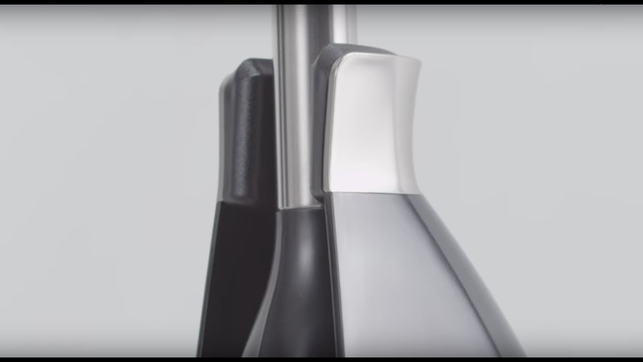 simplehuman black toilet cleaning brush youtube. Black Bedroom Furniture Sets. Home Design Ideas