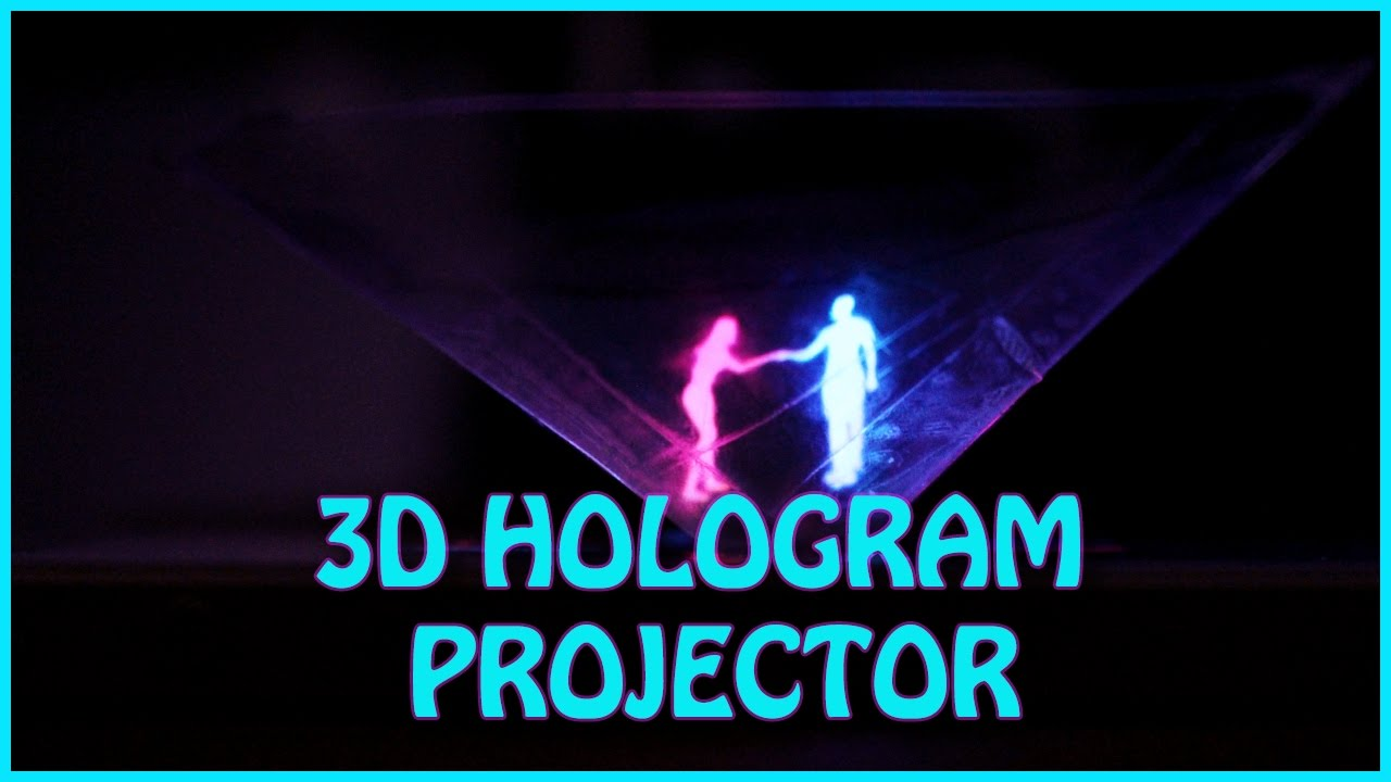 How To Make 3D Hologram Projector   EASY DIY