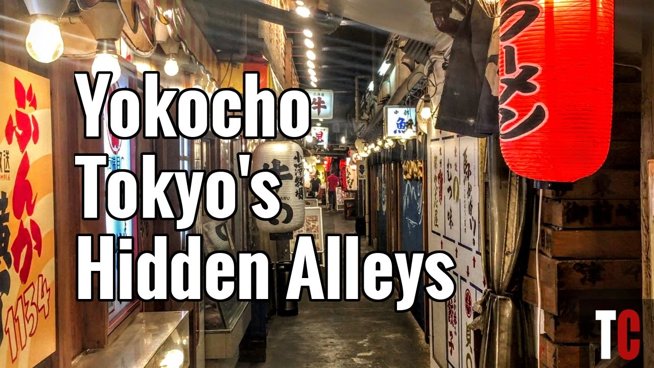 What is a Yokocho? Tokyo's Culinary and Boozey Back Streets