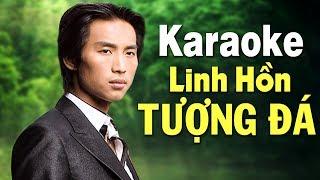 Karaoke Linh Hồn Tượng Đá - ĐAN NGUYÊN   Beat Chuẩn Tone Nam