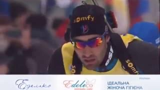 2017.01.08 - Биатлон - Кубок Мира 2016-2017, масс-старт, мужчины - UA-Перший