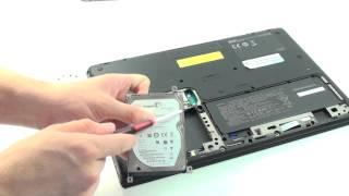 Festplatte gegen SSD tauschen - Sony Vaio S Series Notebook
