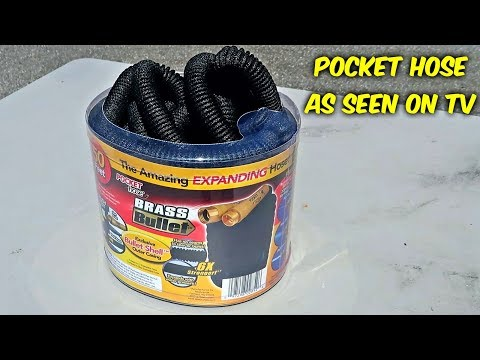 Testing Pocket Hose - As Seen On TV