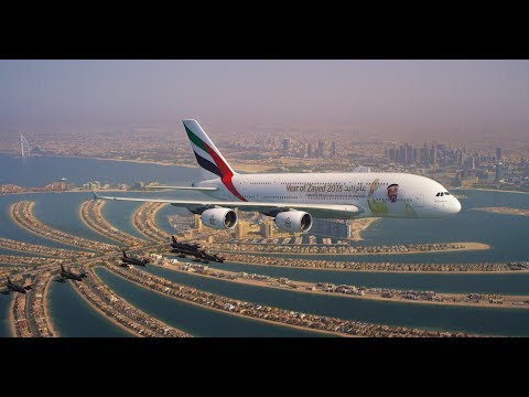 Together we soar | UAE National Day Formation Flight | Emirates, Etihad, flydubai & Air Arabia