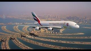 Together we soar | UAE National Day Formation Flight | Emirates, Etihad, flydubai & Air Arabia