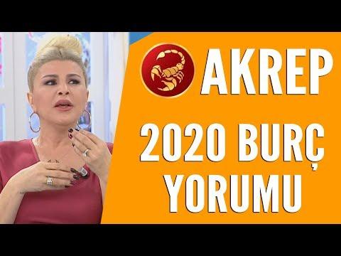 AKREP BURCU   Nuray Sayarı'dan 2020 burç yorumları