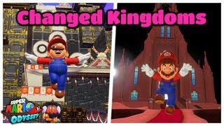 What If Super Mario Odyssey's Kingdoms Were DIFFERENT? - Bowser's Kingdom & Moon Kingdom