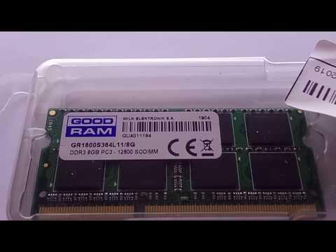 Оперативна пам'ять Goodram SODIMM DDR3-1600 8192MB PC3-12800 (GR1600S364L11/8G)