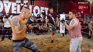 RED SAILOR vs Harvester Totems !! MMA Fight !