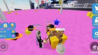 Roblox| Tiến bước qua CandyLand| Unboxing Simulator