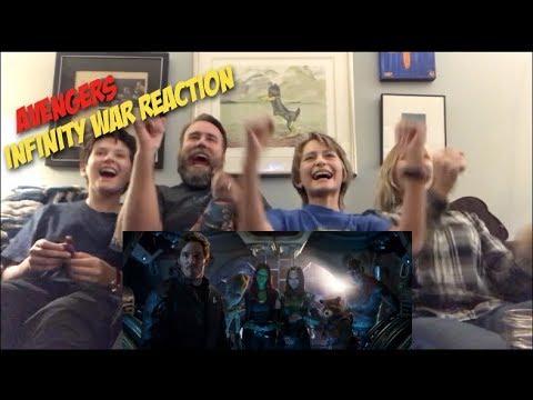 Avengers Infinity war Official Trailer Reaction!!!
