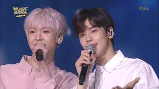 170930 ASTRO 아스트로 Eunwoo & Sanha - Happy (Mocca) Special Stage | KBS Music Bank in Jakarta