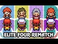Pokémon FireRed & LeafGreen - All Elite Four Rematch (HQ ...