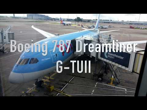 Tui Airlines Boeing 787 Dreamliner flight - Manchester to Mahon