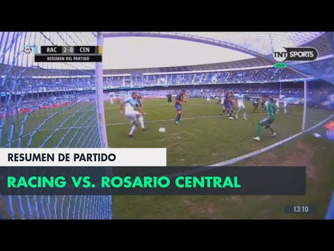 Resumen de Racing vs Rosario Central (2-0) | Fecha 4 - Super