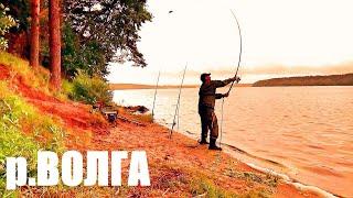 Рыбалка на Волге Хороший Клев Хорошего Леща Отличное Место Красивая Река Я СЮДА ЕЩЁ ВЕРНУСЬ