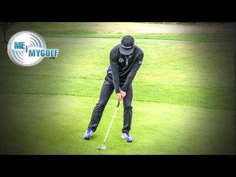 CHIPPING FROM A DOWNHILL LIE