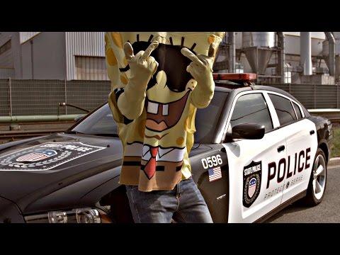 SpongeBOZZ - A.C.A.B (official Video) | Lyrics