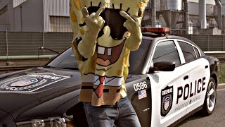 SpongeBOZZ - A.C.A.B (official Video) | Lyrics